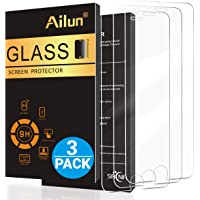 Ailun Screen Protector Compatible with iPhone 8 7 6s 6  4.7 inches 3 Pack 2.5D Edge Tempered Glass Compatible with iPhone 7 8 6s 6 Case Friendly