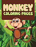 Monkey Coloring Book For Kids