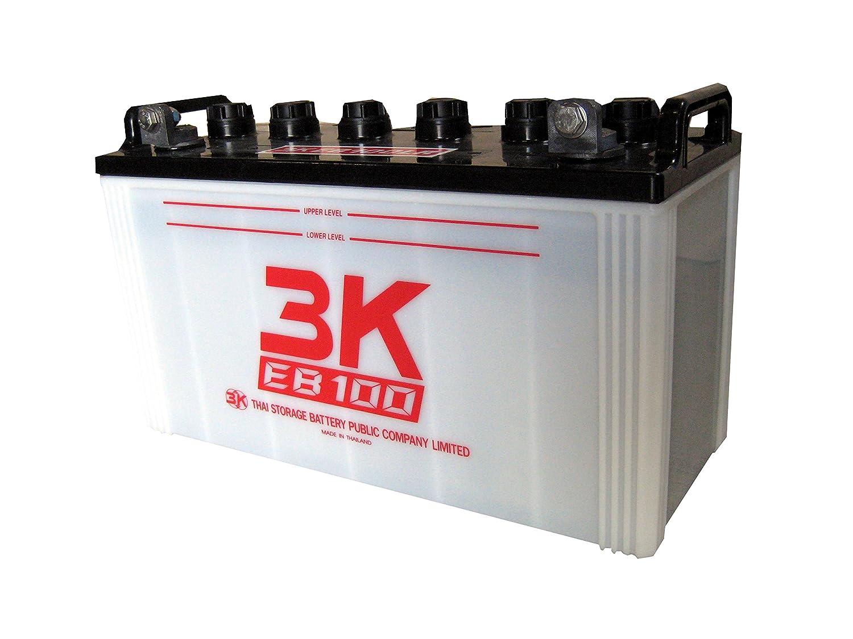 【個人宅配達不可】EB100 T端子(ポール式) 高所作業車 サイクルサービスバッテリー 3K B01IEQ9GXI