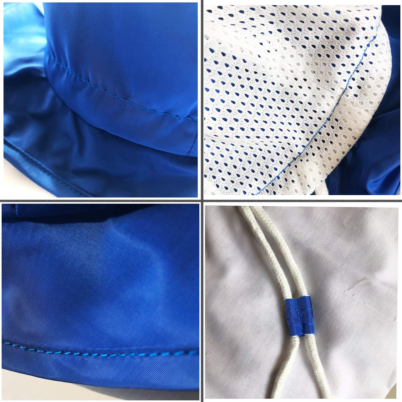 Berretto da legionario per Bambini Cappello Estivo da Spiaggia con Protezione Solare UV 50+ Blue M Aged 1-2Y FtingSun