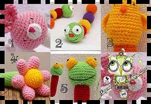 Katia - Mini ovillos de lana de algodón para Amigurumis, color S01 ... | 346x500