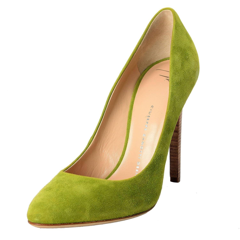 Amazon.com  Giuseppe Zanotti Design Women s Green Suede Pumps High Heels  Shoes US 6 IT 37  Shoes d59b41e67c