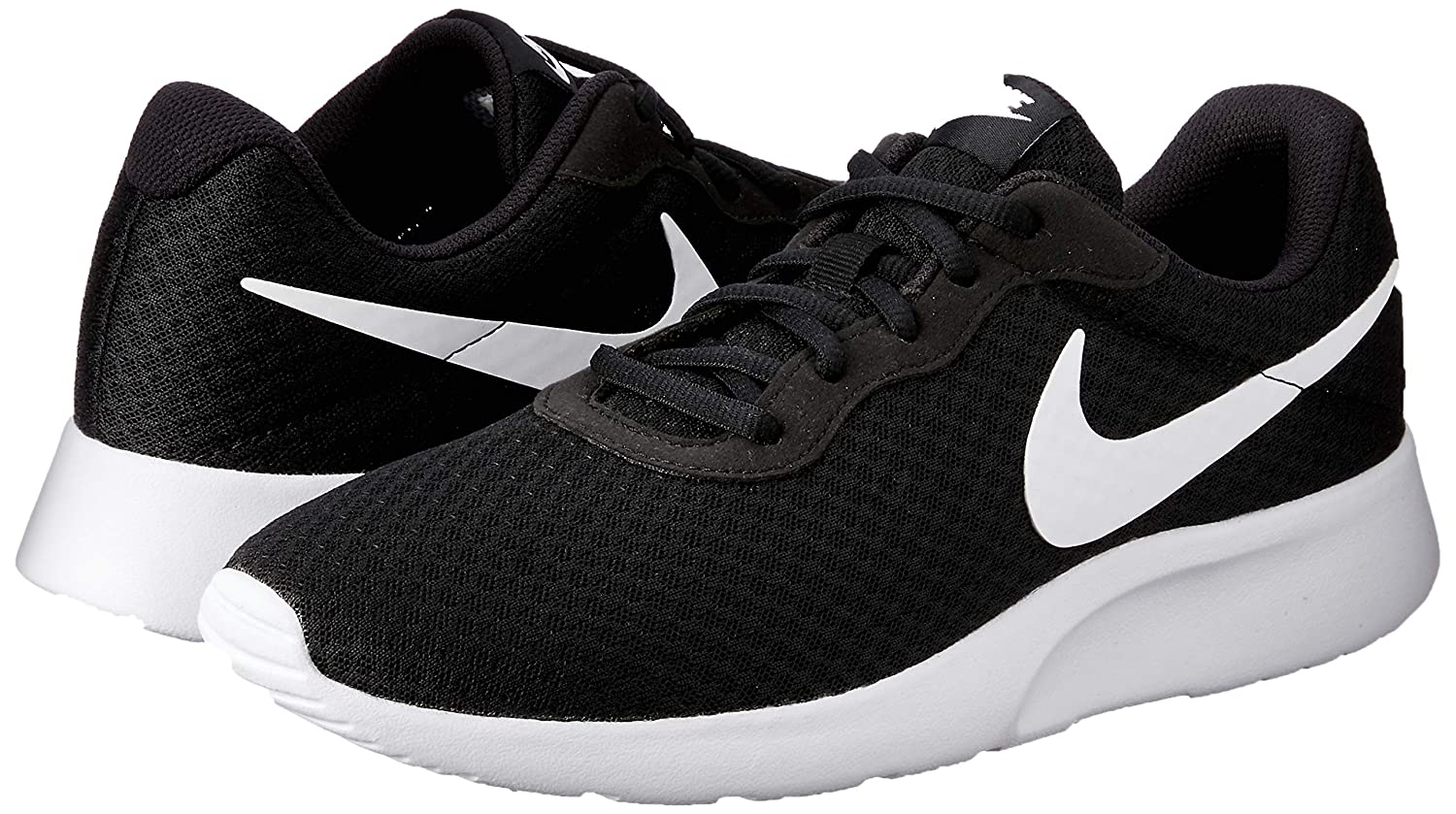 half off 95ca0 04e0e Amazon.com   NIKE Men s Tanjun Sneakers, Breathable Textile Uppers and  Comfortable Lightweight Cushioning   Road Running