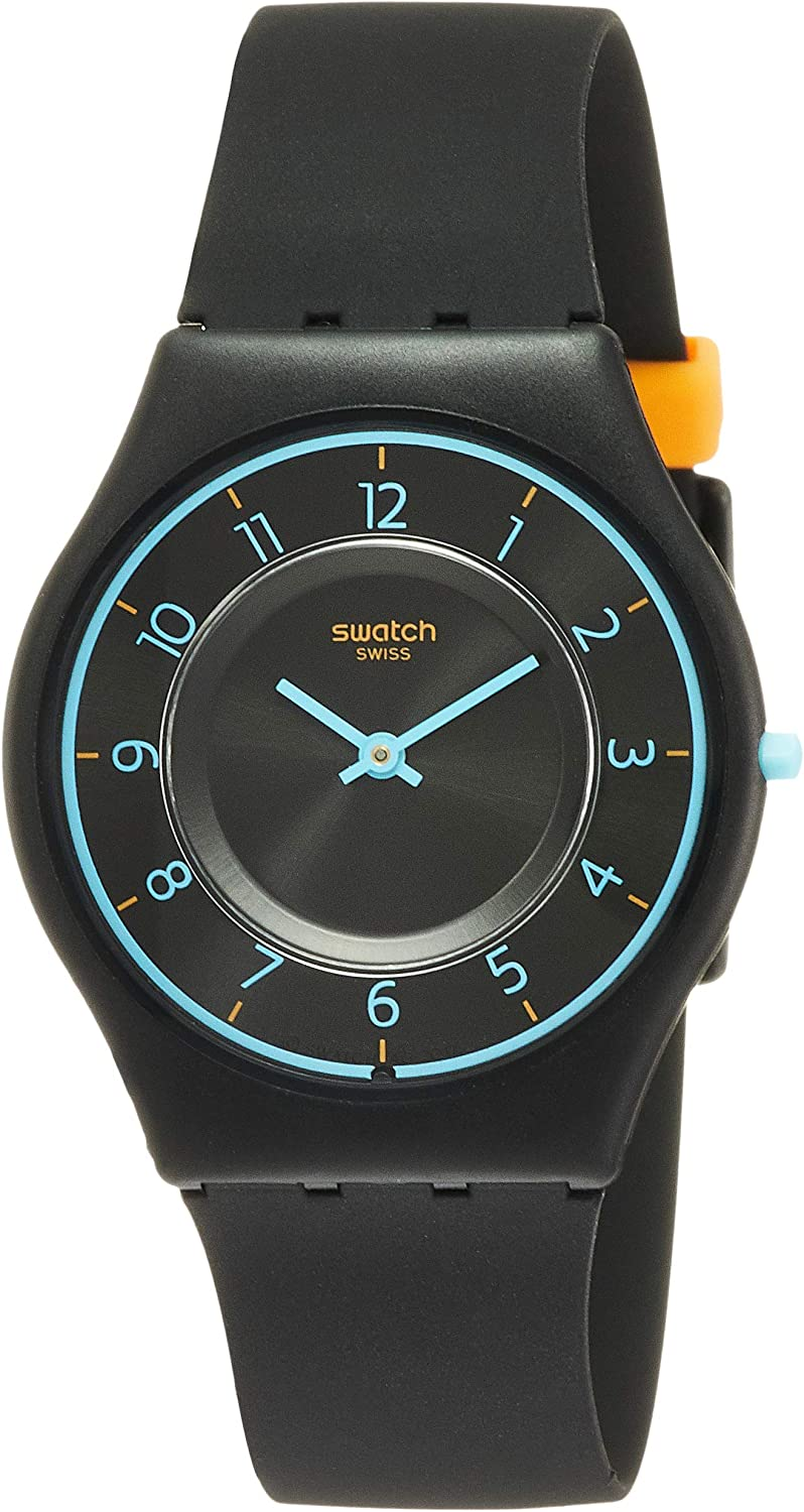 Swatch Skin Quartz Movement Black Dial Ladies Watch SFB147