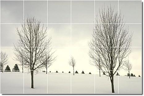 Paesaggi foto murale per piastrelle cm
