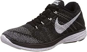 new style b2816 2696b Nike Womens Flyknit lunar3 Trainers 698182 Sneakers Shoes (US 6, Volt Black  Bright Crimson