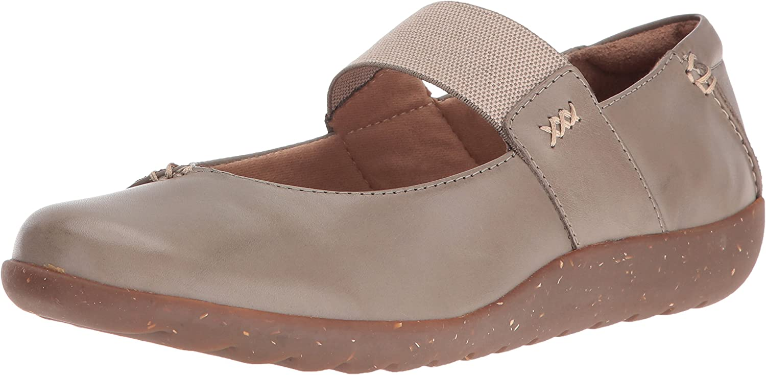 Clarks Ladies Elasticated Strap Shoes /'Medora Frost/'