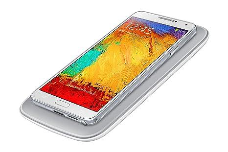 Samsung EP-WN900EWEGWW - Pack de carga por inducción para Galaxy Note 3 (Cargador y tapa trasera), blanco- Versión Extranjera