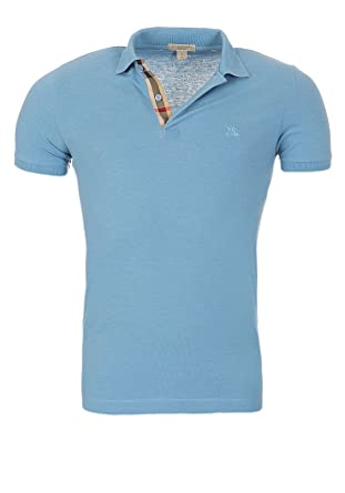 BURBERRY Polo Hommes Brit Slim Fit Poloshirt S-M-L-XL-XXL Outlet, Taille  863395c648f
