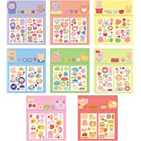 ToneGrip Cute Stickers for Kids Ages 3+ and Up Assortment 8 Set 120PCS Decoration Waterproof Reward Label Handmade Card…