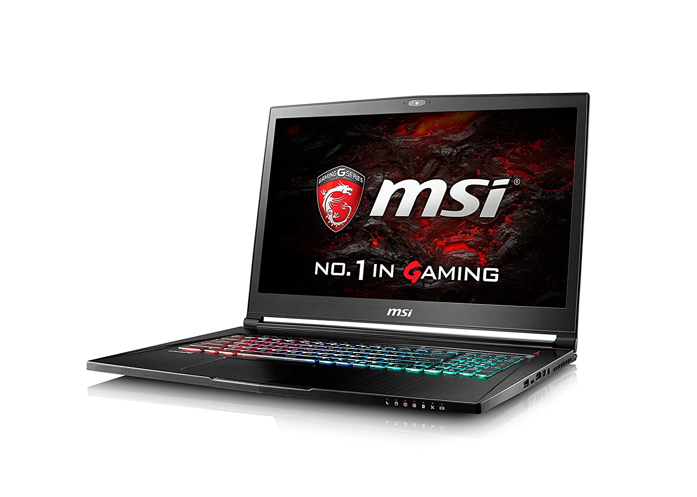 MSI 4K GS73VR 7RF Stealth Pro - Ordenador portátil de 17.3