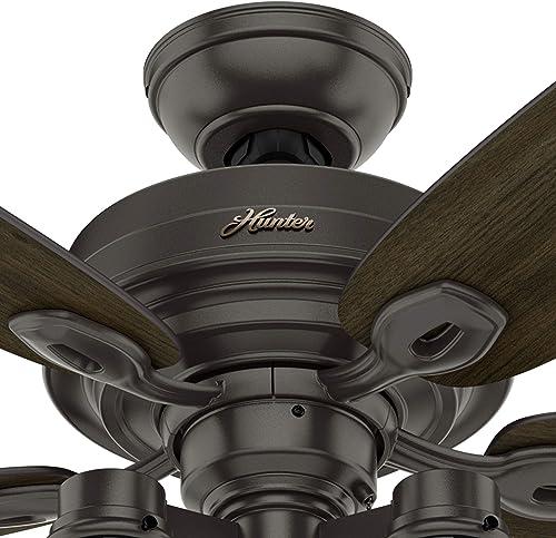 Hunter Fan 52 inch Casual Noble Bronze Indoor Ceiling Fan