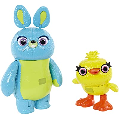 Toy Story Disney/Pixar Interactive True Talkers Bunny and Ducky 2-Pack: Toys & Games