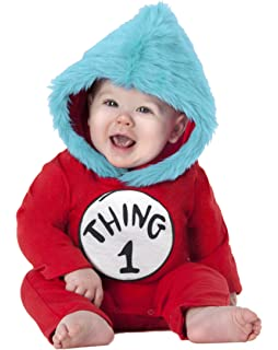 spirit halloween toddler thing 1 and thing 2 costume dr seuss