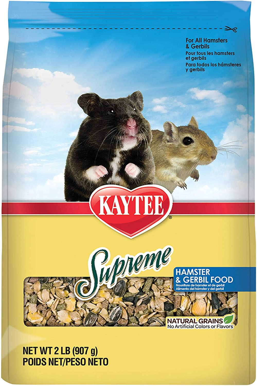 Kaytee Supreme Hamster & Gerbil Food, 2 Lb