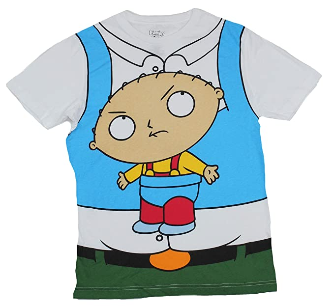 02b596a00ae9b Amazon.com: Family Guy Peter Griffin w/ Stewie Costume Graphic T ...