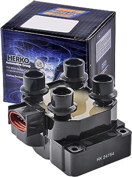 Set of 6 Herko B092 Ignition Coils For Infiniti Nissan 2002-2009