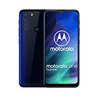 Motorola One Fusion | Unlocked | GSM only | 4/128GB | 48MP | 2020 | Deep Sapphire