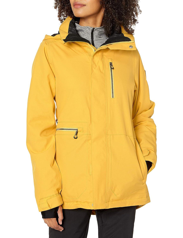 Gelb XL Volcom Damen Isolierte Jacke