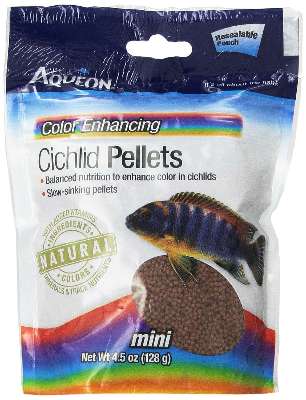 Amazoncom Aqueon 06187 Cichlid Color Enhancing Pellets 4 12