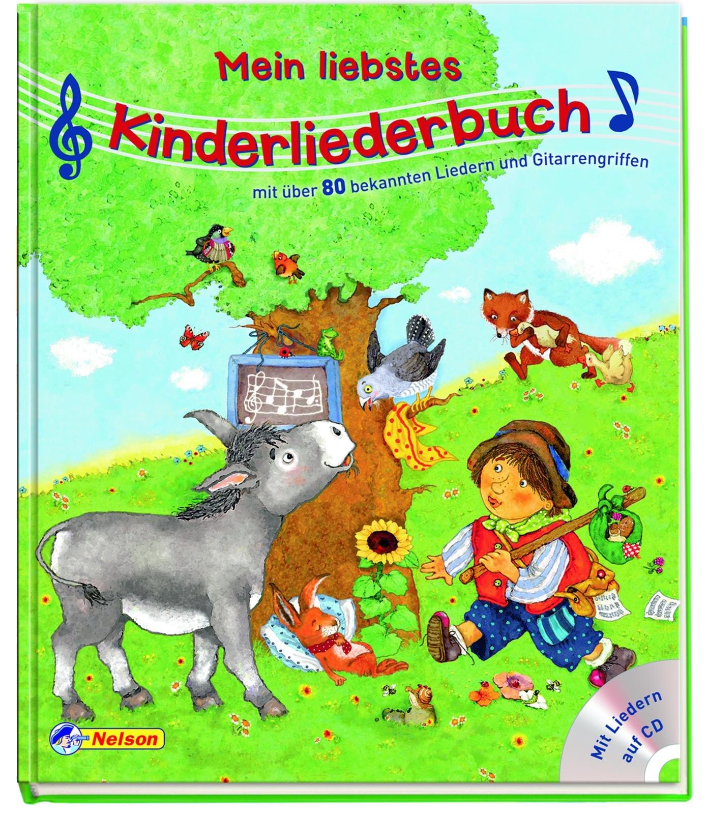 Mein liebstes Kinderliederbuch mit CD: Mit über 80 bekannten Liedern und Gitarrengriffen
