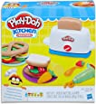 Play Doh - Kitchen Creations - Toaster Playset - Inc Cooking Accessories & 6 Cans of Compound - Ages 3+