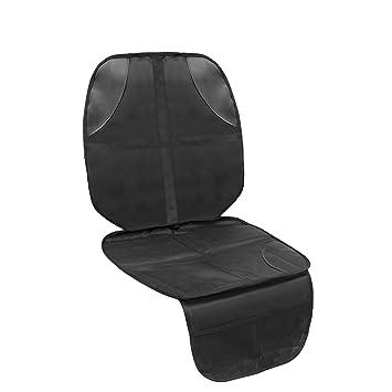 Autositzauflage Kindersitz Schutzunterlage Sitzschoner Auto Kindersitz Kindersitzunterlage Isofix Wasserabweisend Autokindersitz Unterlage Universell Passform Baby