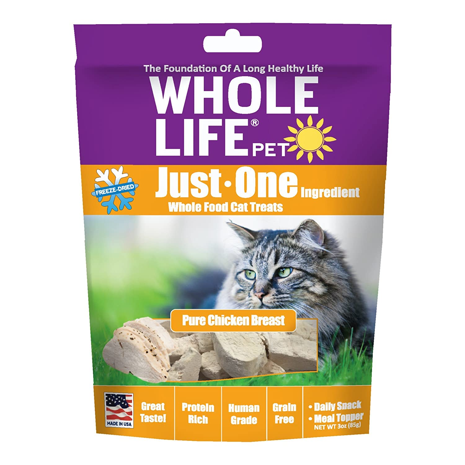 Whole Life Pier 6 Dogfish Freeze Dried Dog Treats [Misc.]