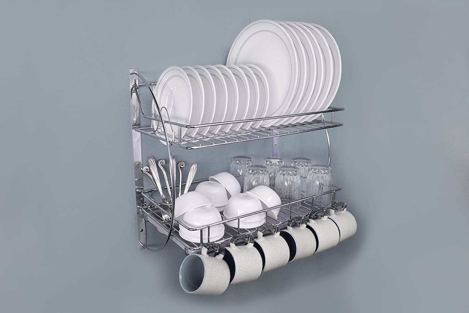 Buy Lifetime Wire Products Kitchen Rack With Removable Strong ...