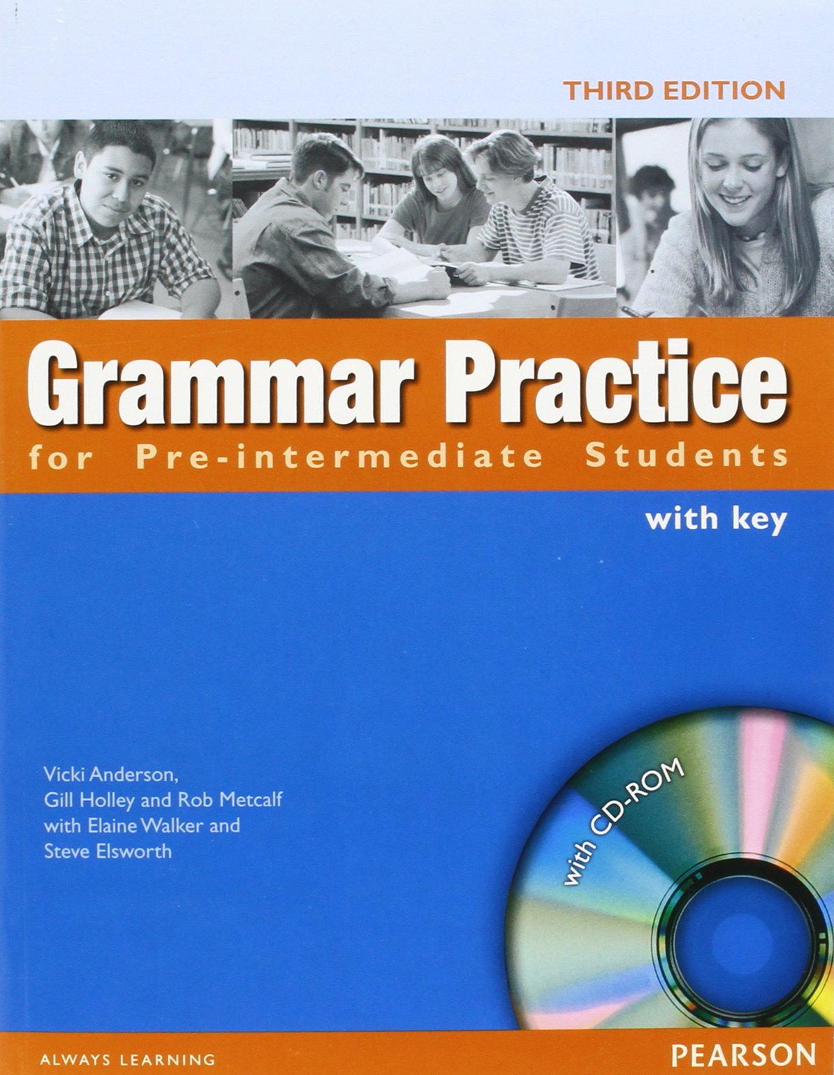 Grammar Practice for Pre-Intermediate Students: With Key (With CD ...