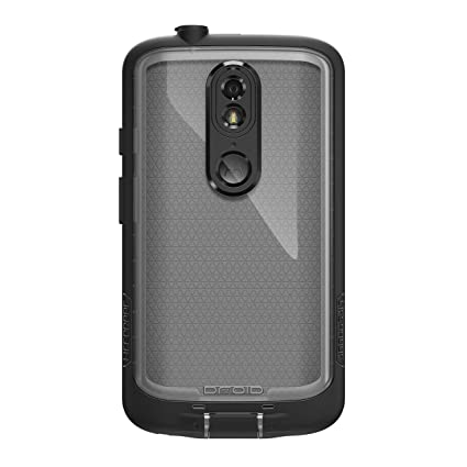 more photos 6c69a 2482b Lifeproof FRĒ Series Waterproof Case for Motorola Droid Maxx 2 Case -  Retail Packaging - BLACK