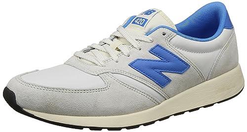 968c63015b75 new balance Men s 420 Engineered Knit Off White Running Shoes - 12.5 UK  India (