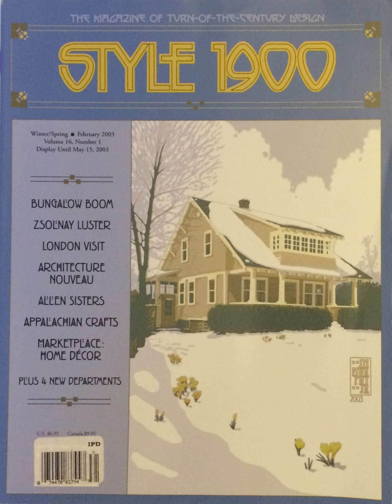 Download Style 1900 the Magazine of Turn-of-the-century Design, Volume 16, Number 1 PDF
