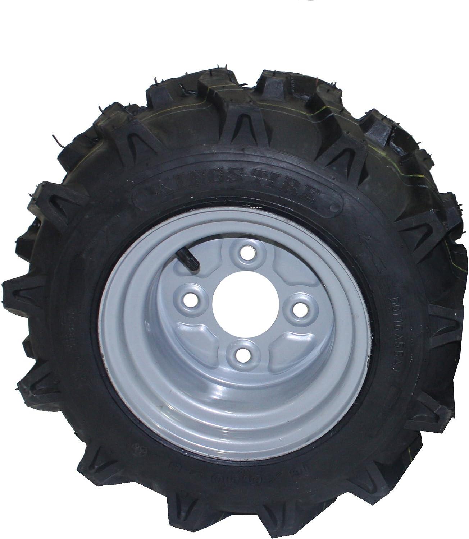 Bricoferr PT40326 Rueda agrícola (16 x 6.50-8, aperos de motoazada)
