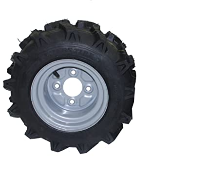 Bricoferr PT40326 - Rueda agrícola, aperos de motoazada (16 x 6,50-