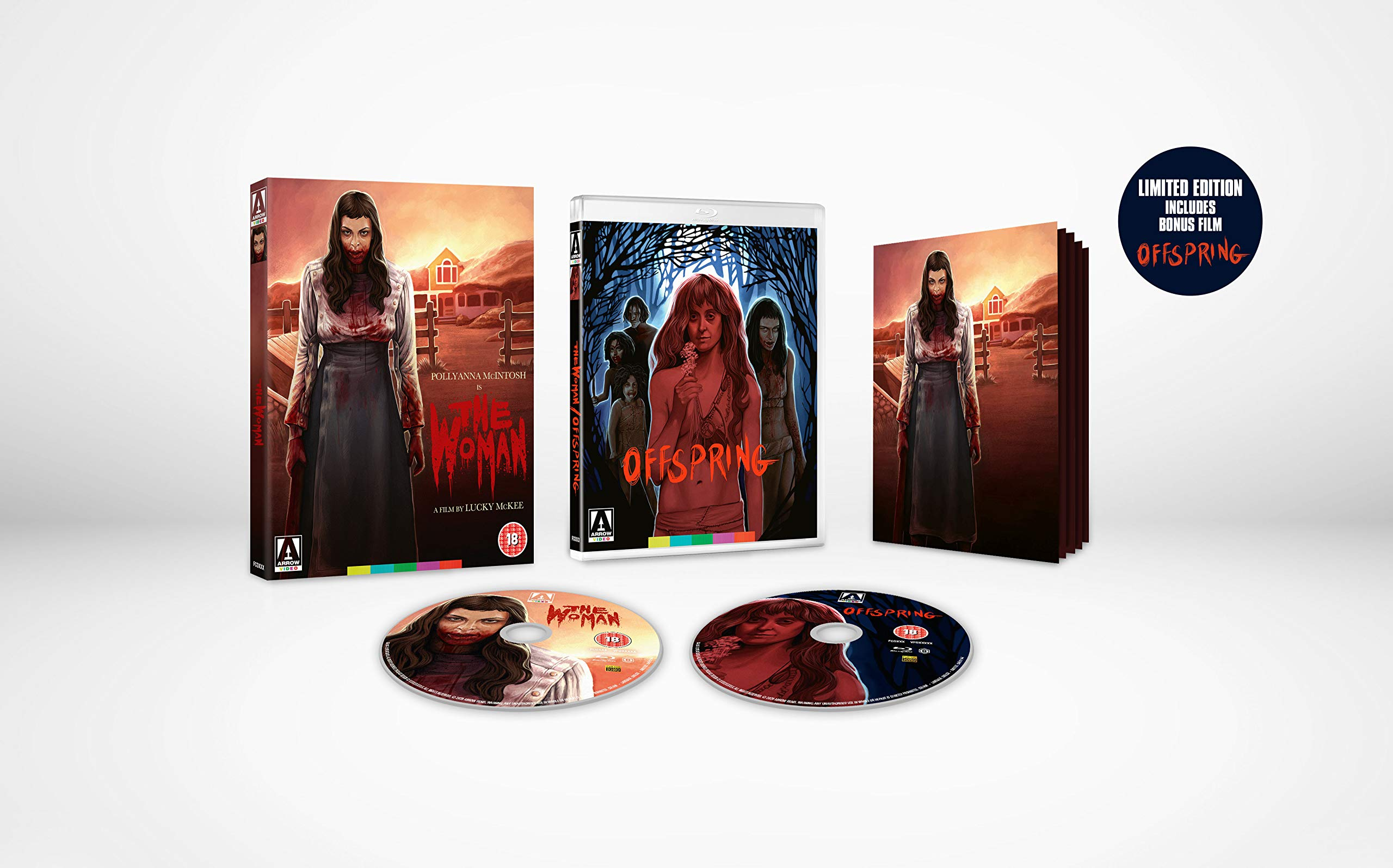The Woman + Offspring Limited Edition [Blu-ray]