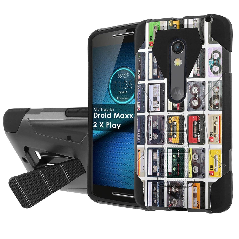 Amazon com: Moto Droid Maxx 2 [Slickcandy] [Black/Black