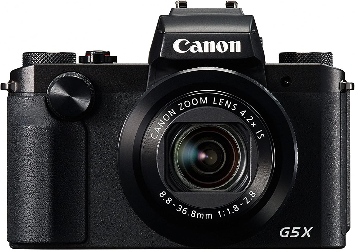 Canon PowerShot G5 X Digital Camera w/1 Inch Sensor and built-in viewfinder - Wi-Fi & NFC Enabled (Black) (Renewed)