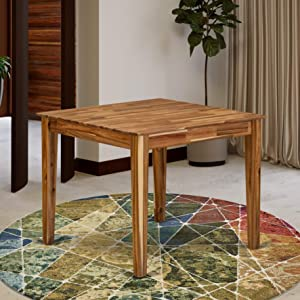 East West Furniture OXT-ANA-T Table, Square
