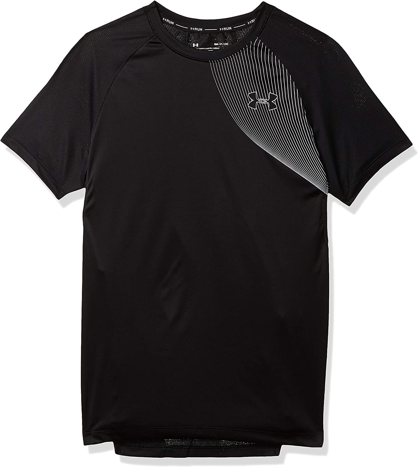 Under Armour Mens Qualifier Iso-chill Short Sleeve Running T-shirt