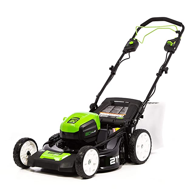 Greenworks PRO Self Propelled Mulching Lawn Mower