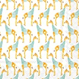 Ideal Home Range L706800 Rosanne Beck 20 Count Paper Luncheon Napkins, Giraffe
