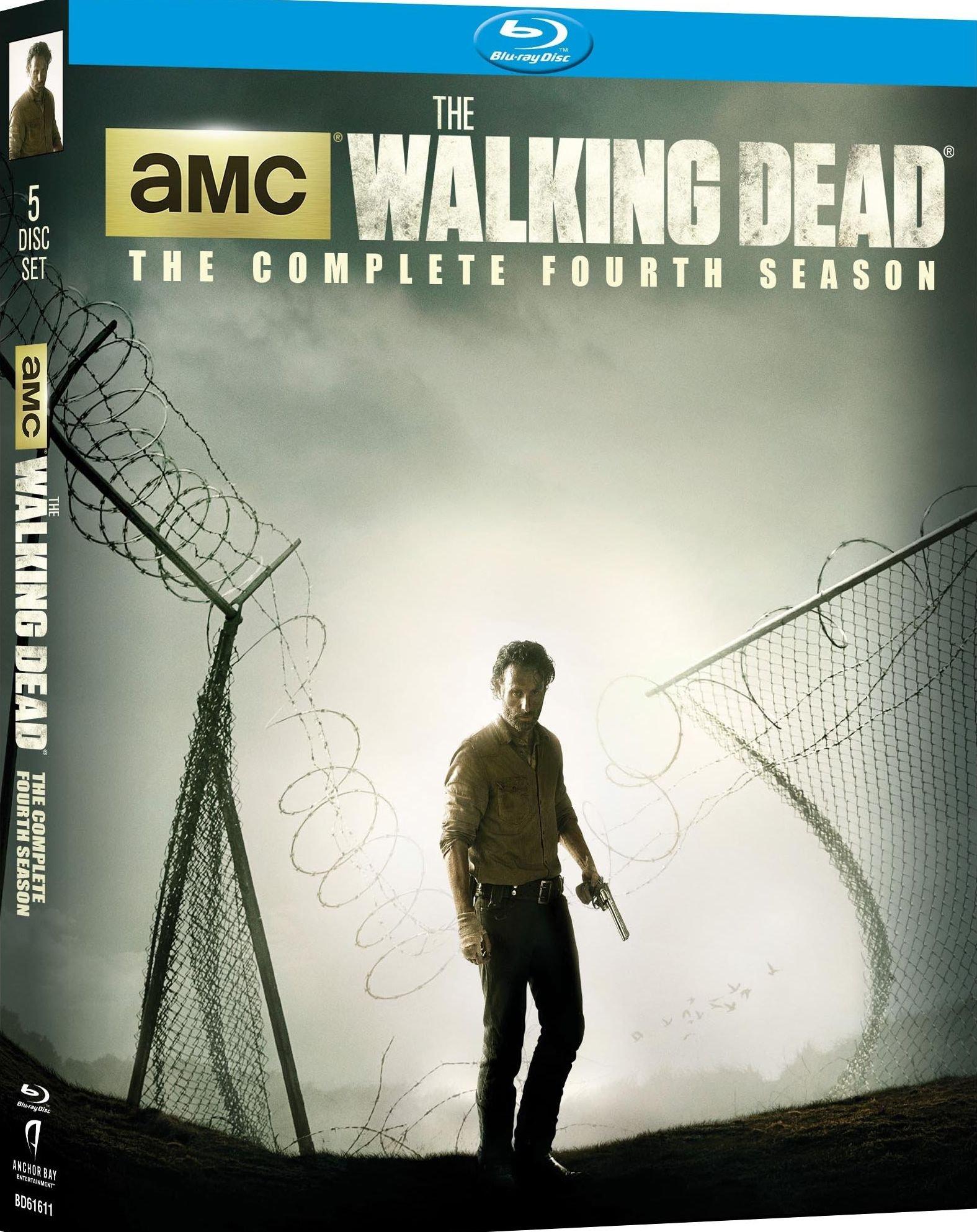 The Walking Dead: Season 4 [Blu-ray] by Starz / Anchor Bay