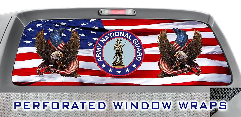 Amazoncom Iti Global Designs Army National Guard 002 Window Wrap