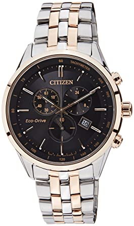 f2f894c91e7 Image Unavailable. Image not available for. Colour  Citizen Eco-Drive Analog  Black Dial Men s Watch ...