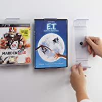 CollectorMount | ComicMount | AlbumMount DVD Mount Video Game, 45 Record and Blu-Ray Shelf Stand and Wall Mount…