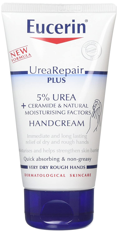 Eucerin Dry Skin Intensive Hand Cream 5% Urea with Lactate 75ml Beiersdorf Uk Ltd 3470663