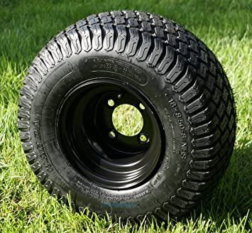 Amazon.com: Ruedas para carrito de golf de acero negro de ...