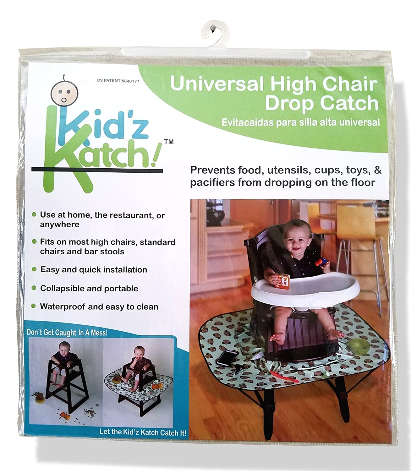 Amazon Kidz Katch High Chair Food and Mess Catcher Accessory