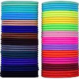 69 Pezzi 3mm Multicolore Capelli Elastic Fasce Per Capelli Nessun Metallo Dolci Elastici